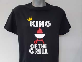 Shirt King of the Grill